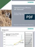Energy Simulation Plant Simulation Version 11 Mh 07
