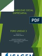 Responsabilidad Social Empresarial Isagen