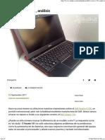 Dell Vostro V131, Análisis