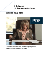 AZ House Bill 2281