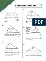 Tümay Geometri Seçilmiş Sorular