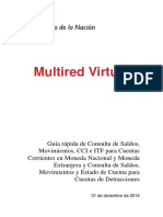 Manual Multired Virtual Cuentas Corrientes