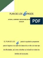 PLAN DE LOS 6 PASOS