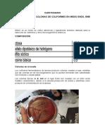 CUESTIONRIO coliormes