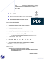 Tratamiento de Agua - Apuntes - Ingeniería Química