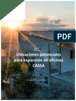 Rayos-X Mercado de vivienda nacional Guatemala -Oficinas CASSA