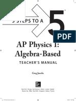 0071820647AP Physics 1 Teacher's Manual