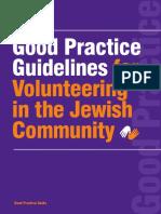 Volunteering Good Practice Guidelines