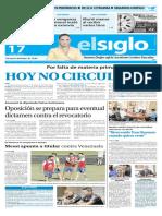 Edicion Impresa Elsiglo Viernes 17-06-2016