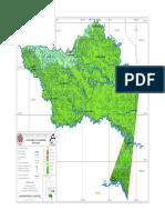 Mapa  Amazónica Colombiana
