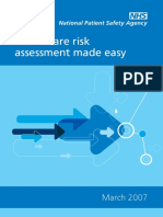 Healthcare Risk Assessment Made Easy
