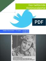 Twitterndes Kommunalportal