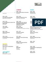Programa de Tag CDMX 2016