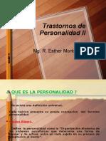 Trastornos de Personalidad II