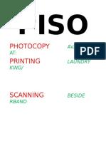 Piso Print