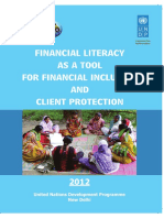 Financial Literacy as a Tool for Financial Inclusion and Client