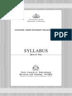 Syllabus of Vhse