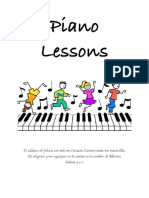 piano booklet
