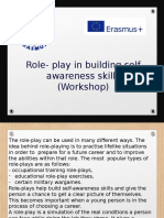 role-play in building self-awareness