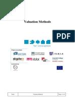 Valuation Methods of ipr
