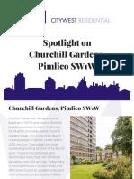 Churchill Gardens, Pimlico SW1W