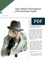 Review Peran Intelijen dalam PencapaianTarget Penerimaan Pajak