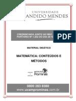 2. Matemática - Conteúdos e Métodos