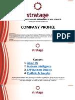 Company Profile Stratage