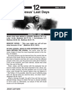 2nd Quarter 2016 Lesson 12 Easy Reading Edition Jesus Last Days