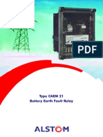 ALSTOM Battery Earth Fault Relay CAEM21
