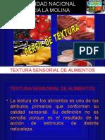TEXTURA SESNORIAL DEFINICION
