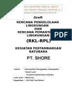 00. Cover PT Shore.doc