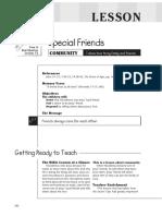 2nd Quarter 2016 Lesson 12 Kindergarten Teachers' Guide
