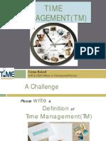 Time Managemen TM
