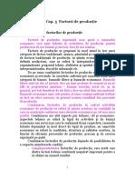 Curs  Microeconomie - factori de productie