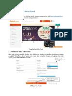 Documentation of Seller Panel