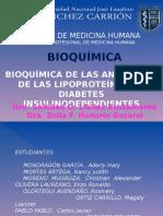 Bioquímica de Las Anomalías de Las Lipoproteínas En