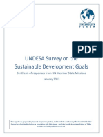 Analysis SDG UNDESA Survey_Final