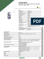 Schneider Electric XCKN2145P20 Datasheet