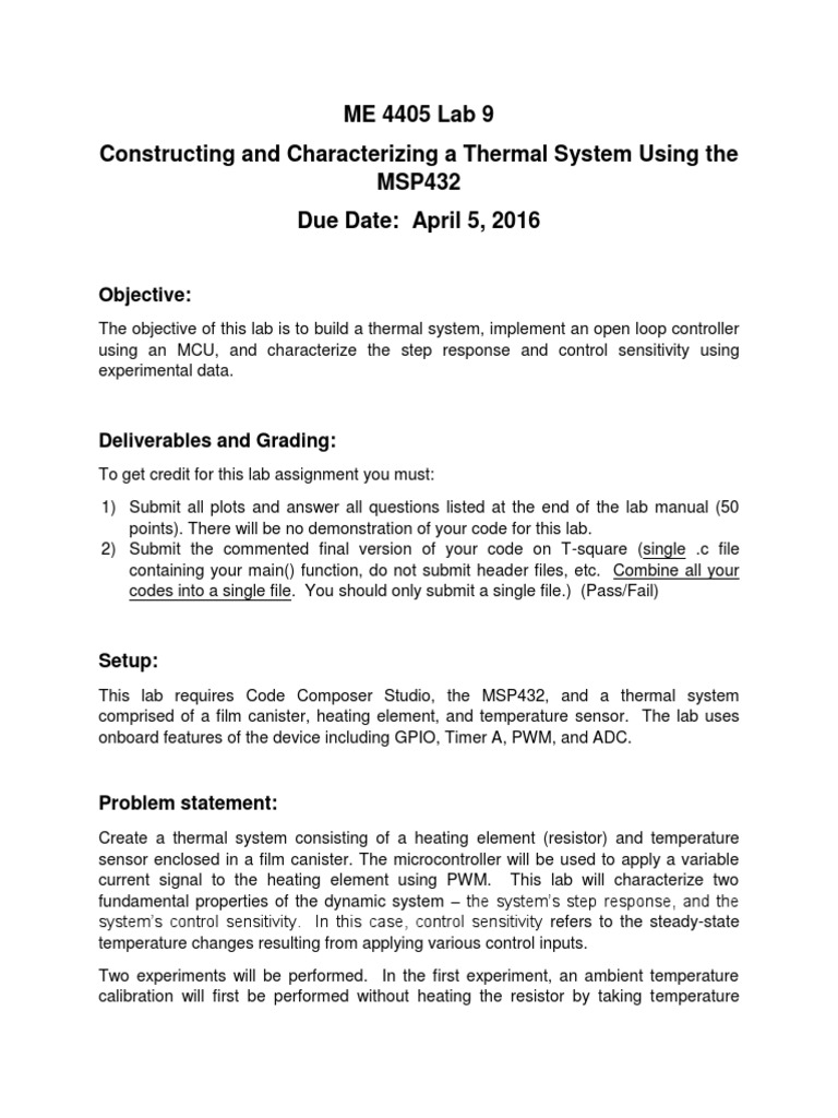 Lab+9+Manual | Electronic Circuits | Analog To Digital Converter