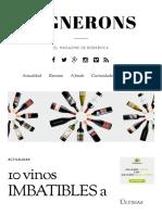 10 vinos IMBATIBLES a menos de 10€ _ Vignerons