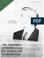 Juan Moricz El Origen Americano de Pueblos Europeos