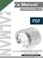 Manual Cooler CNPS9500A LED