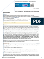 Hybrid Approaches to Clinical Trial Monitoring_ Practical Alternatives to 100% Source Data Verification