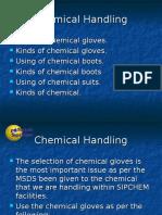 Chemical Handling- Gloves