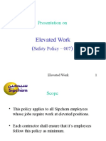 Elevated Work SP 007