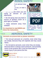 Aerosol Disposal