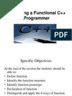 function C++