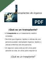 Transplantes de Oraganos