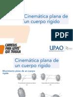 CINEMATICA PLANA DE UN CUERPO RIGIDO